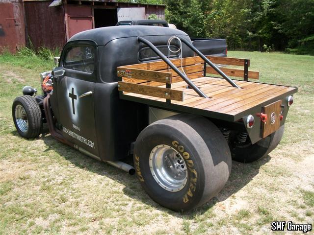 fuzz s 1951 ford f100 1948-1952 Ford Truck Rat Rod 1951 ford f100